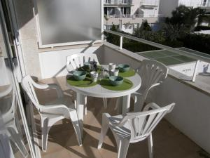 A balcony or terrace at Apartamentos Miami