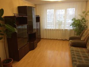 Телевизор и/или развлекательный центр в Apartments Vizit