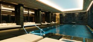 The swimming pool at or near SEVERIN*S – The Alpine Retreat