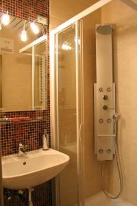 Ein Badezimmer in der Unterkunft Schloss Hotel Zeillern
