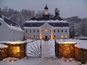Hotel Schloss Rabenstein im Winter