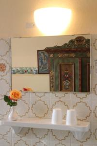Koupelna v ubytování Gasthof Sollner Hof