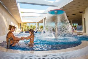The swimming pool at or close to La Marina Resort