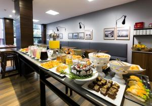Breakfast options available to guests at Tropikalya Gold Hotel