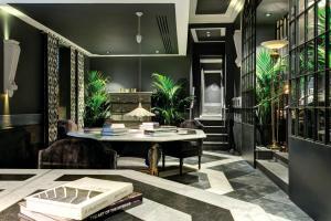 مطعم أو مكان آخر لتناول الطعام في فندق فرانكلين - Starhotels Collezione