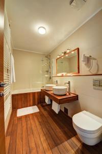 A bathroom at Hotel Bonaca