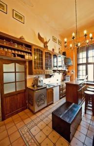 Kuchnia lub aneks kuchenny w obiekcie Zamek Dobra