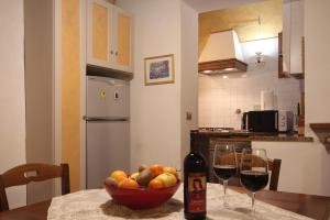 Una cocina o zona de cocina en Verrazzano Apartment