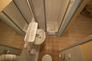 Ein Badezimmer in der Unterkunft Hostel SLEPS