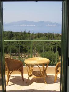A balcony or terrace at Vegera Apartments