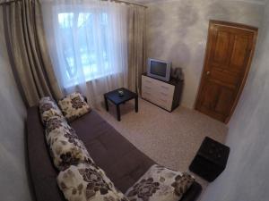 Телевизор и/или развлекательный центр в Apartments on Orekhovom bulvare