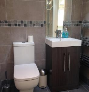 A bathroom at Mill Cottage