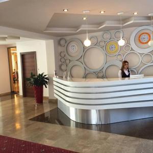 Лобби или стойка регистрации в Tsaghkahovit Hotel