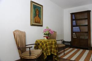 A seating area at Tourist House Santa Croce