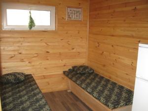 Кровать или кровати в номере Fishing Park