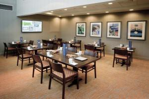 A restaurant or other place to eat at DoubleTree by Hilton Hotel South Bend
