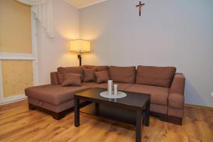 Гостиная зона в Sonet Apartament