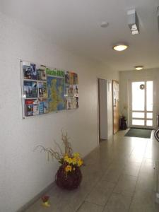 The lobby or reception area at Appartementhaus Anne