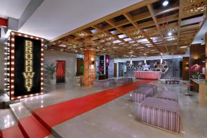 The lobby or reception area at Fame Hotel Sunset Road