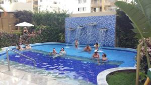 The swimming pool at or near Prive das Thermas 405