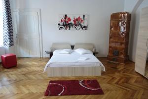 Cama o camas de una habitación en Casa Sforii Brasov
