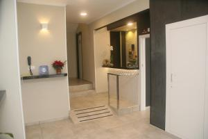 The lobby or reception area at Hostal El Altet