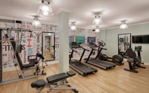 The fitness center and/or fitness facilities at Strand Hotel Swakopmund