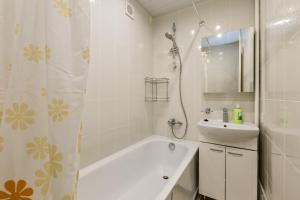 A bathroom at Apartment in Old Khimki