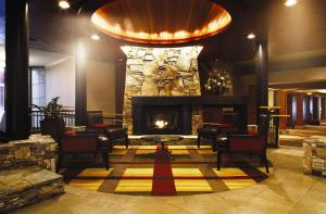The lobby or reception area at Hilton Whistler Resort & Spa