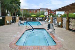 The swimming pool at or close to TownePlace Suites by Marriott Las Vegas Henderson