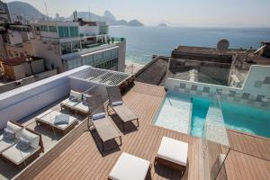 A view of the pool at Rio Design Hotel or nearby