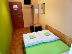 Posteľ alebo postele v izbe v ubytovaní Dream Hostel & Apartments