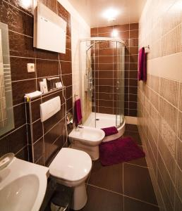 Ванная комната в Beerloga Hotel