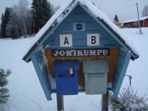 Jokikumpu Farmtourism under vintern