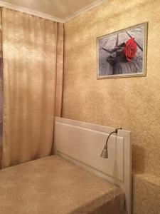 Кровать или кровати в номере Apartment Gorkogo 37 2х комнатные