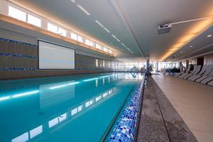 The swimming pool at or near Zenit Wellness Hotel Balaton