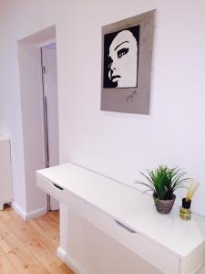 A bathroom at Family Apartments Mitte