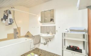 Ein Badezimmer in der Unterkunft Appartement/Ferienwohnung