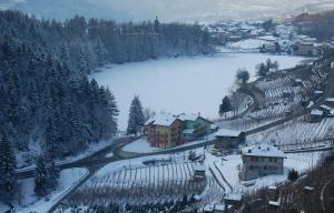 Residence Hotel Miralago im Winter
