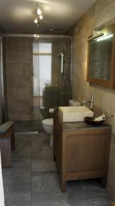 A bathroom at La Bergerie St Antoine