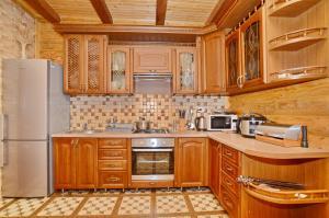 Кухня или мини-кухня в Apart-hotel ORLAN