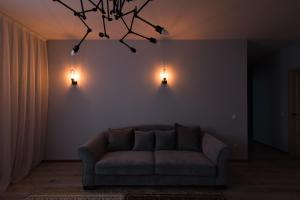 A seating area at The Room: apartment #39