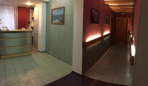 The lobby or reception area at Breeze Baltiki