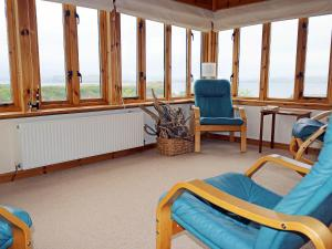 A seating area at Holiday Home Fiskavaig