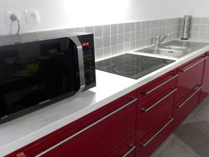 A kitchen or kitchenette at Apartment Dauphine