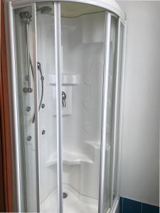 A bathroom at Palazzo Gallo