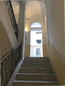 A balcony or terrace at Palazzo Gallo