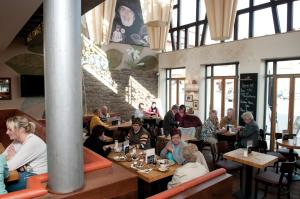 A restaurant or other place to eat at Cafe Elisabeth