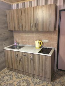 Кухня или мини-кухня в Apartments Riviera ZiL