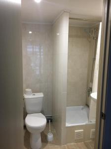 Ванная комната в Apartments Riviera ZiL